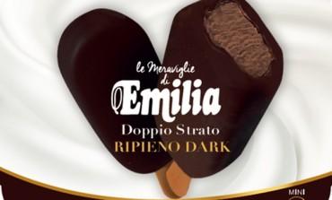 Gelato al cioccolato per Luigi Zaini