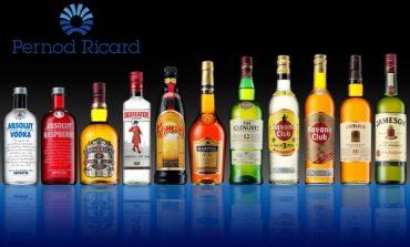 Pernod Ricard scivola in Cina