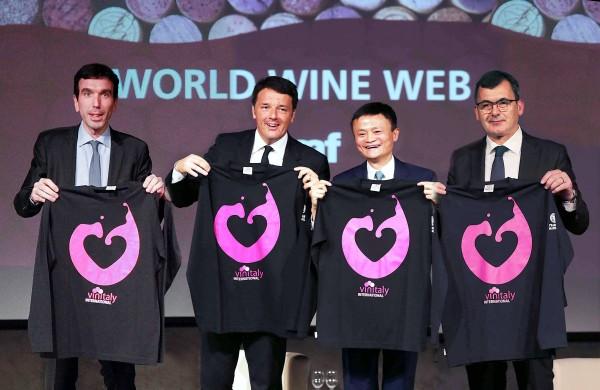 Vinitaly, Jack Ma lancia il 9-9-9 di Alibaba