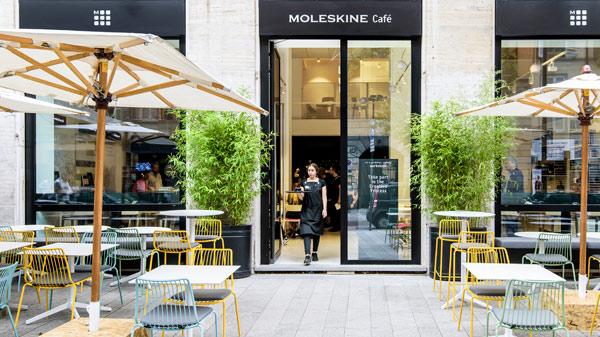 Apre a Milano il primo Moleskine Café in centro