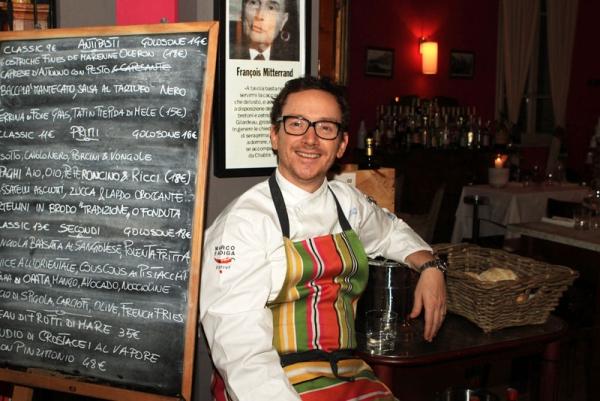 Lo chef Marco Fadiga alla corte di Moët & Chandon