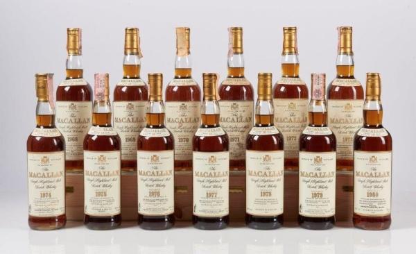 Bolaffi oltre il milione, vini e whisky da investimento
