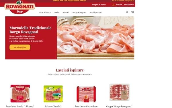 Rovagnati entra nell'e-commerce con il primo portale di prodotti freschi