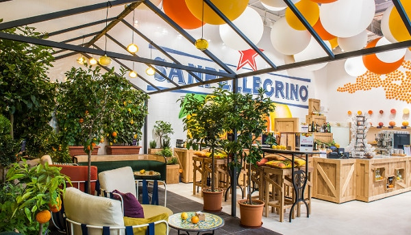 A Milano il primo Bar Meraviglia di Sanpellegrino
