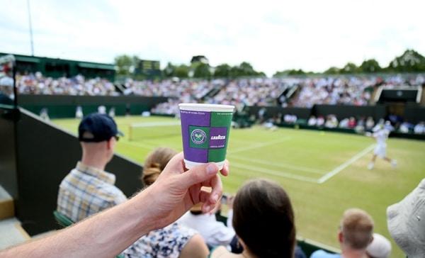 Lavazza mantiene il servizio a Wimbledon