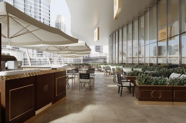 Cova apre a Dubai, caffè con vista sul Burj Khalifa