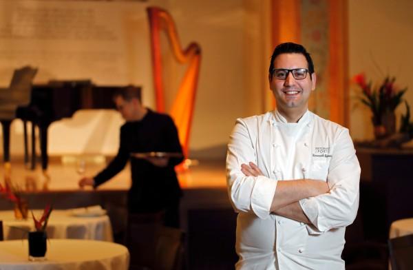 Petrosino è il nuovo chef de I Portici