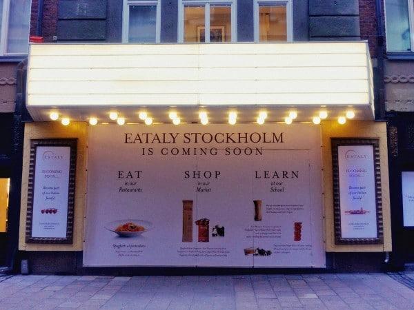 """Eataly a Stoccolma. Guerra: """"Siamo in attivo"""""""