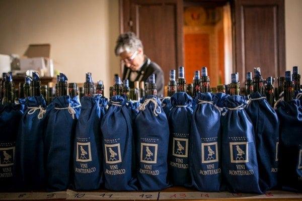 Sagrantino di Montefalco a quasi due milioni di bottiglie