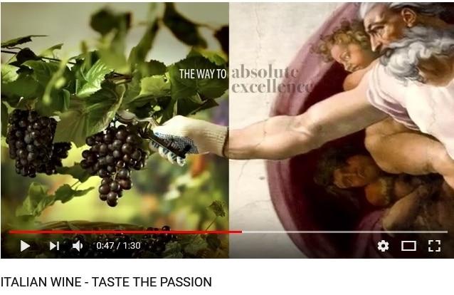Il prestigio dell'Italian wine negli spot per Stati Uniti e Cina