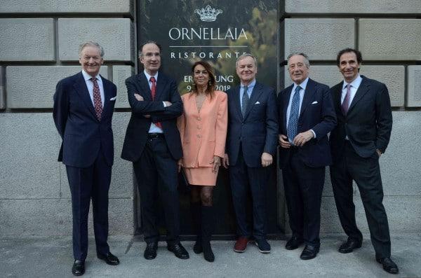 """Frescobaldi, nuova """"firma"""" per Masseto e ristorante Ornellaia a Zurigo"""