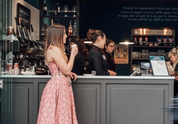 Caffè Napoli studia la formula pasta bar