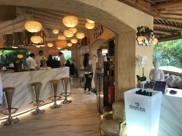 Champagne di nicchia, Maxime Blin debutta a Porto Cervo