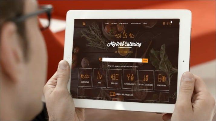 Mywebcatering sposta online le forniture ai ristoranti