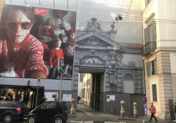 Hotel, ristorante e polo leisure per Ferragamo in corso Venezia