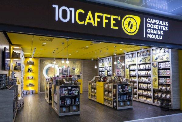 101Caffè è arrivato a quota… 101 store.