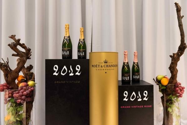 Moët & Chandon, il Grand Vintage 2012 è anche in rosé
