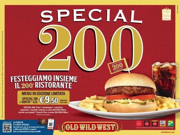 Old Wild West taglia il traguardo dei 200 locali