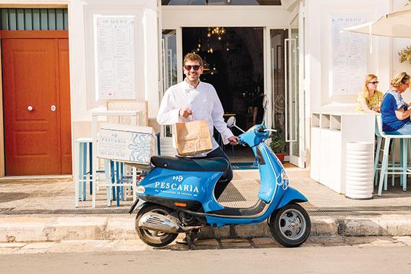 Il delivery e le catene
