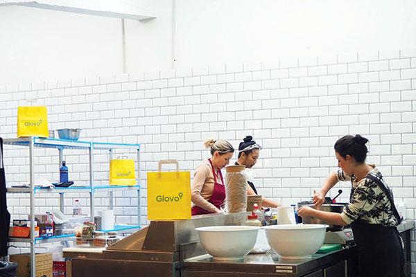 Cucina senza sala