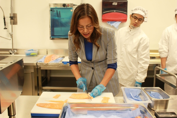 Cucina centrale e servizio capillare per Sushi Daily