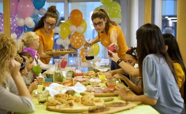 Arriva a Milano il ristorante delle famiglie con bambini