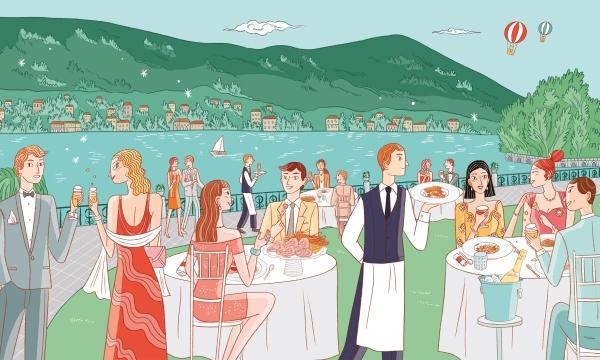 Al mare e al lago, Langosteria punta sul turismo italiano