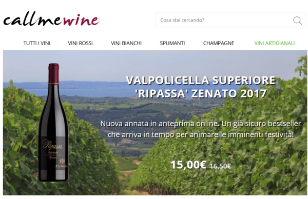 Pesenti nell'e-commerce, acquisita Callmewine