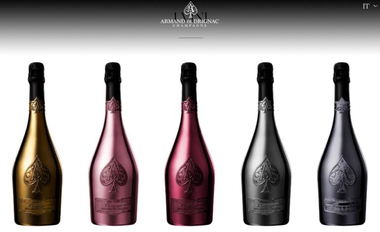 Lvmh con il rapper Jay-Z per lo Champagne Armand de Brignac