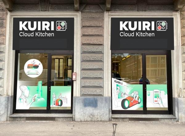 Kuiri progetta 60 smart kitchen con 20 virtual brand